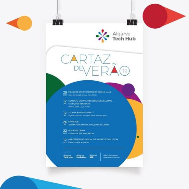 Algarve Tech Hub - Cartaz