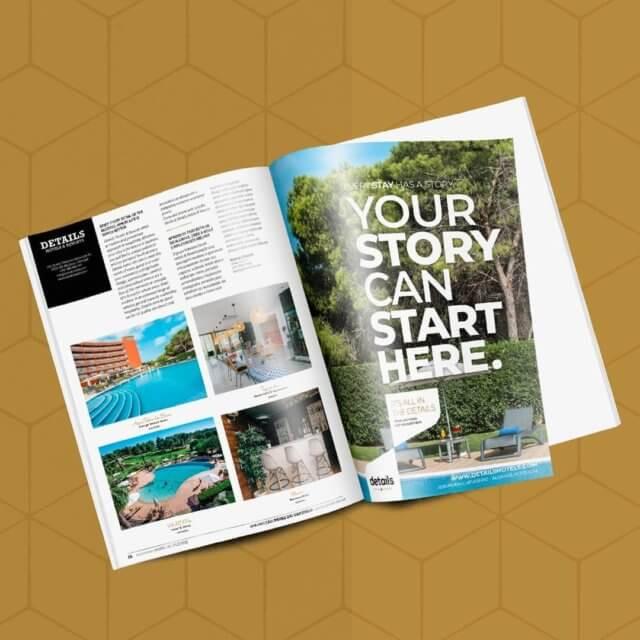 Details Hotels & Resorts - Anúncio de Revista