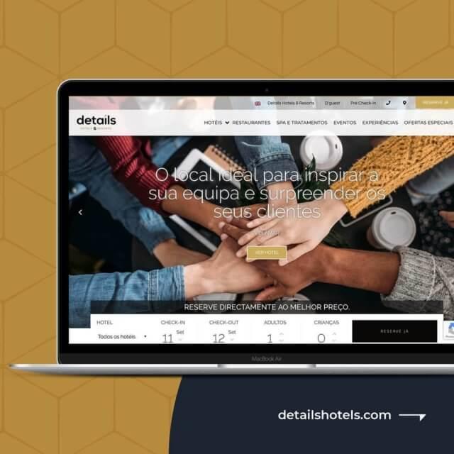 Details Hotels & Resorts - Website